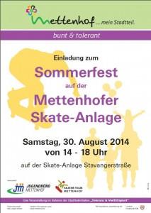 Sommerfest Skater 2014
